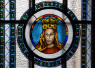 Witraż św. Jadwigi