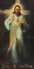 Obraz Miłosierdzia Bożego z naszej parafii - jeden z najstarszych w Polsce
