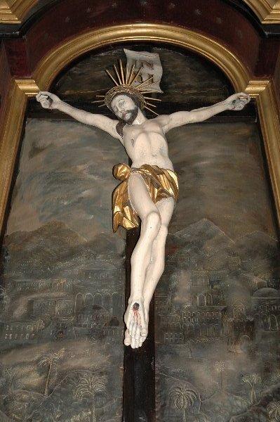 Krzyż z kaplicy NSPJ
