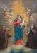 Obraz Matki Bożej Różańcowej w ołtarzu głównym